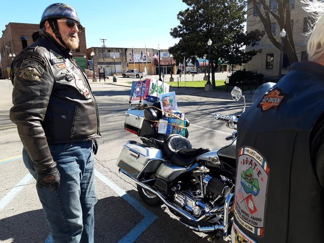 The ABATE District 16 Toy Run to benefit Christmas Wish was held Sunday, Nov. 15, 2020. The event collected more than 40 toys for the Christmas Wish program as well as raising more than $450 in cash donations.