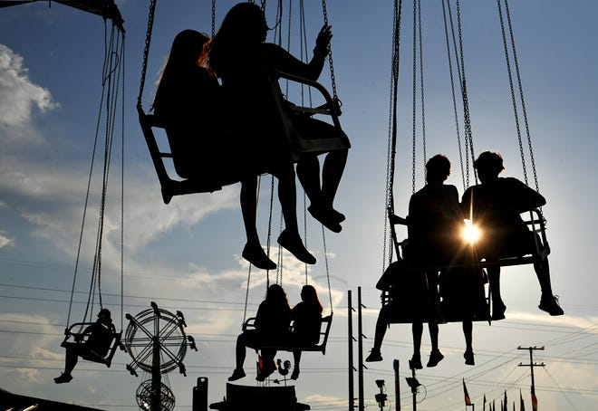 The 15th annual Williamson County Fair in Franklin on Friday, August 2, 2019.