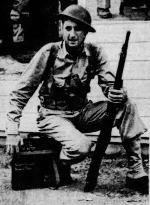 Harold Cohen was one of the 89 Licking County draftees and volunteers who reported to Fort Hayes in Columbus for induction into the United States Army in February 1941.