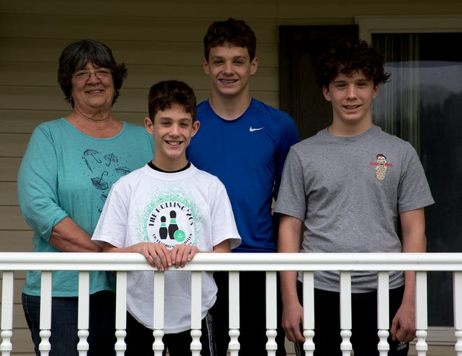 Chris Lee began raising her three grandsons, Ayden, Jackson and Gabe in April of 2008. That September he husband died, leaving her to raise the boys by herself. Wanting to build a support system around the boys she got them involved in Big Brothers Big sisters and now each of her grandson has a big who has been a mentor and friend in their lives.