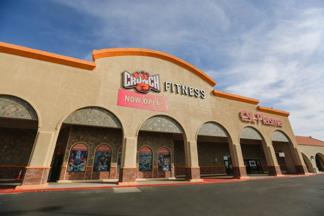 Crunch Fitness in Las Cruces on Monday, Nov. 23, 2020.