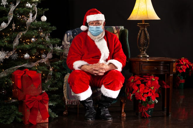 Visits with Santa Claus will be a little different this Christmas season.