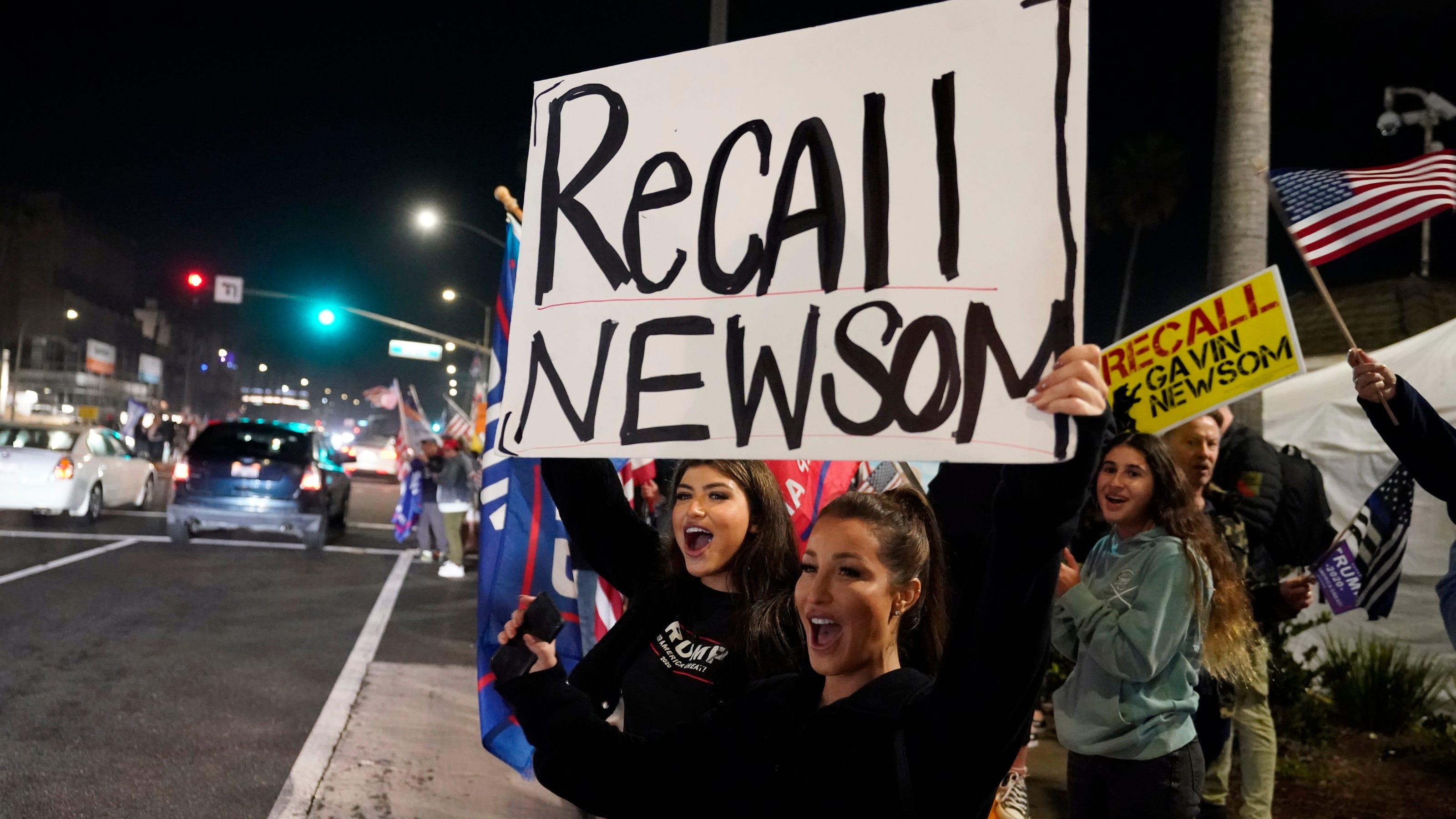 www.desertsun.com: Elias: Newsom's gaffes may hurt him in recall election