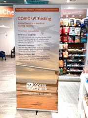 COVID-19 testing at Phoenix Sky Harbor International Airport is offered at the XpresCheck clinic in Terminal 4. It's on Level 3 before security.