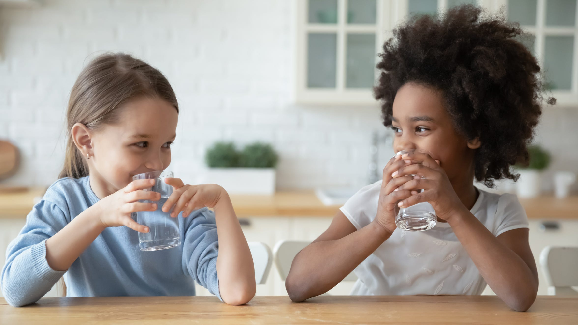 Increasing a child's daily water intake can boost overall health.