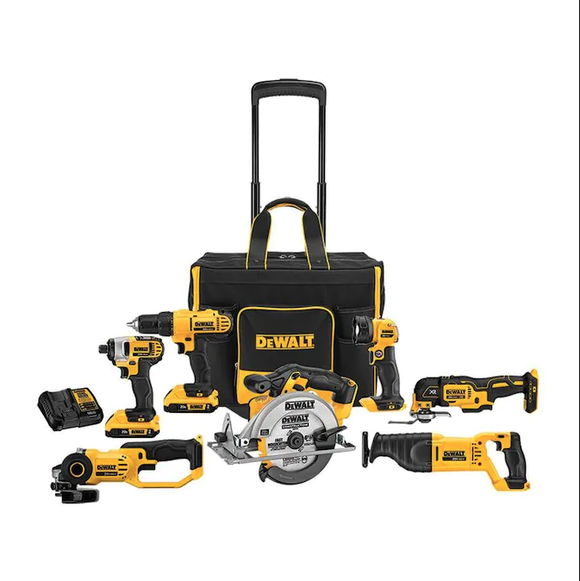 Black Friday 2020: DeWalt 7-tool kit makes a great buy for any homeowner.