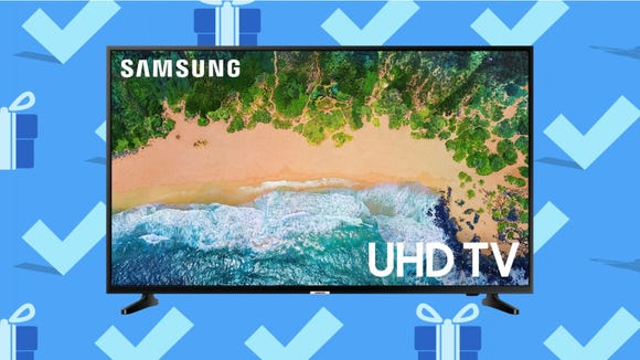 Black Friday 2020: Samsung 50-inch Class 4K Smart TV