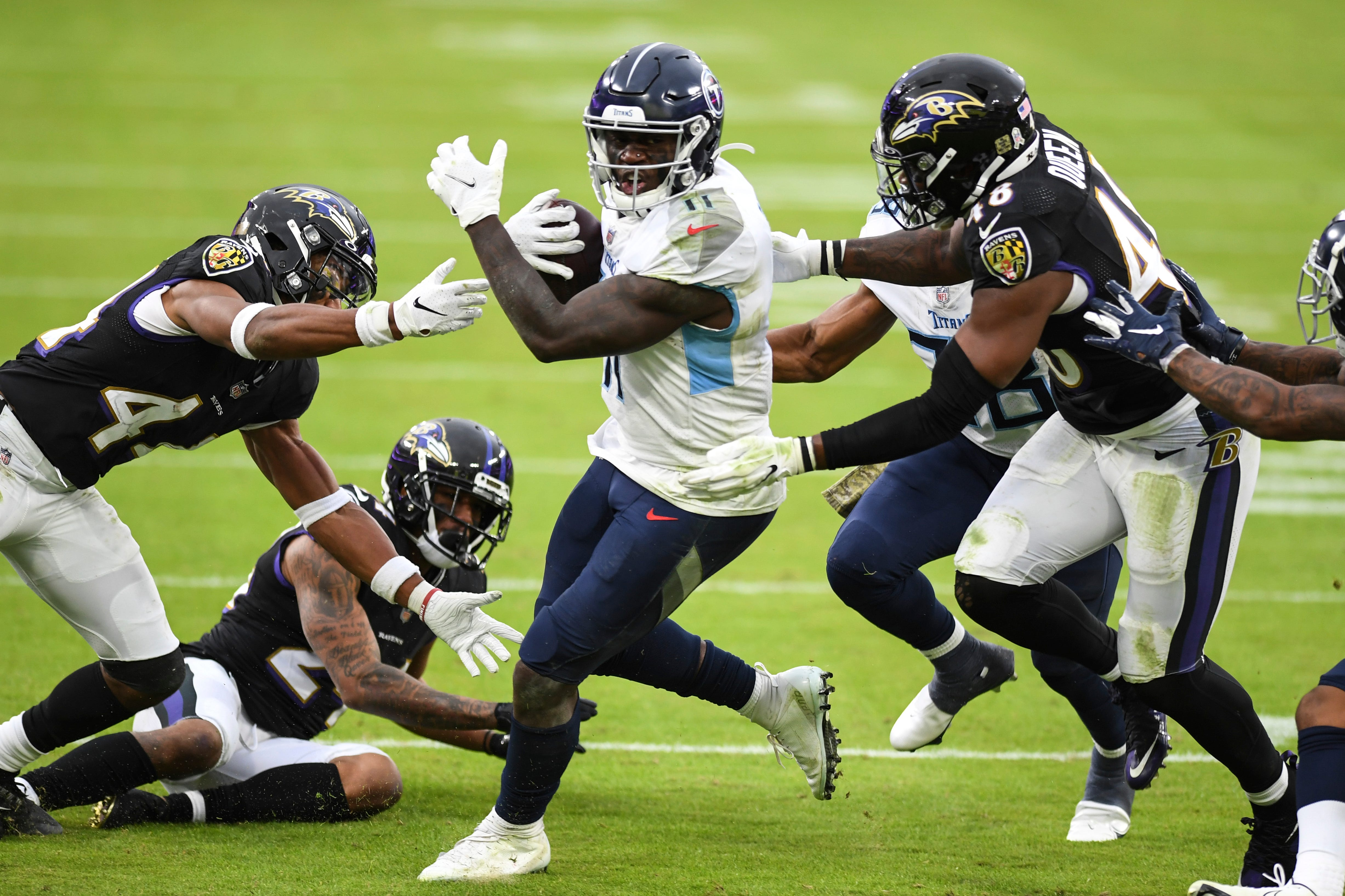 Opinion: Titans leave no doubt who 'wanted it more' while Ravens raise questions about their will