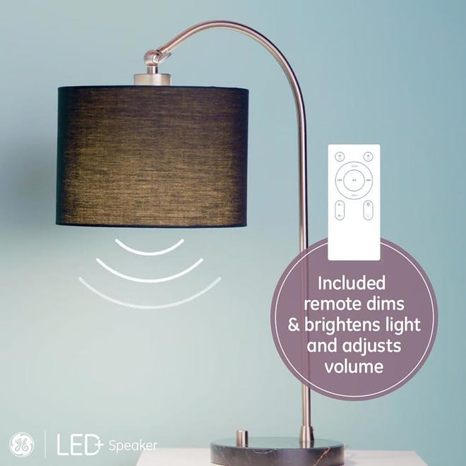 This lightbulb pairs with Bluetooth and plays music.