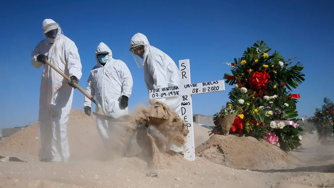 CDC quarantine time; Pfizer; US deaths; Michael Hancock