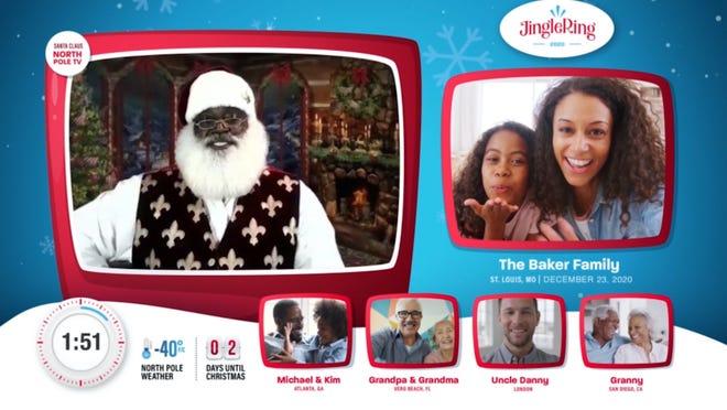 Jingle Ring lets you visit Santa virtually