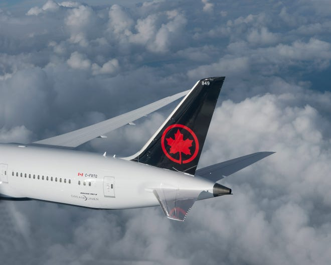 Air Canada announced a summer transborder schedule with up to 220 daily flights between the U.S. and Canada as of Aug. 9.