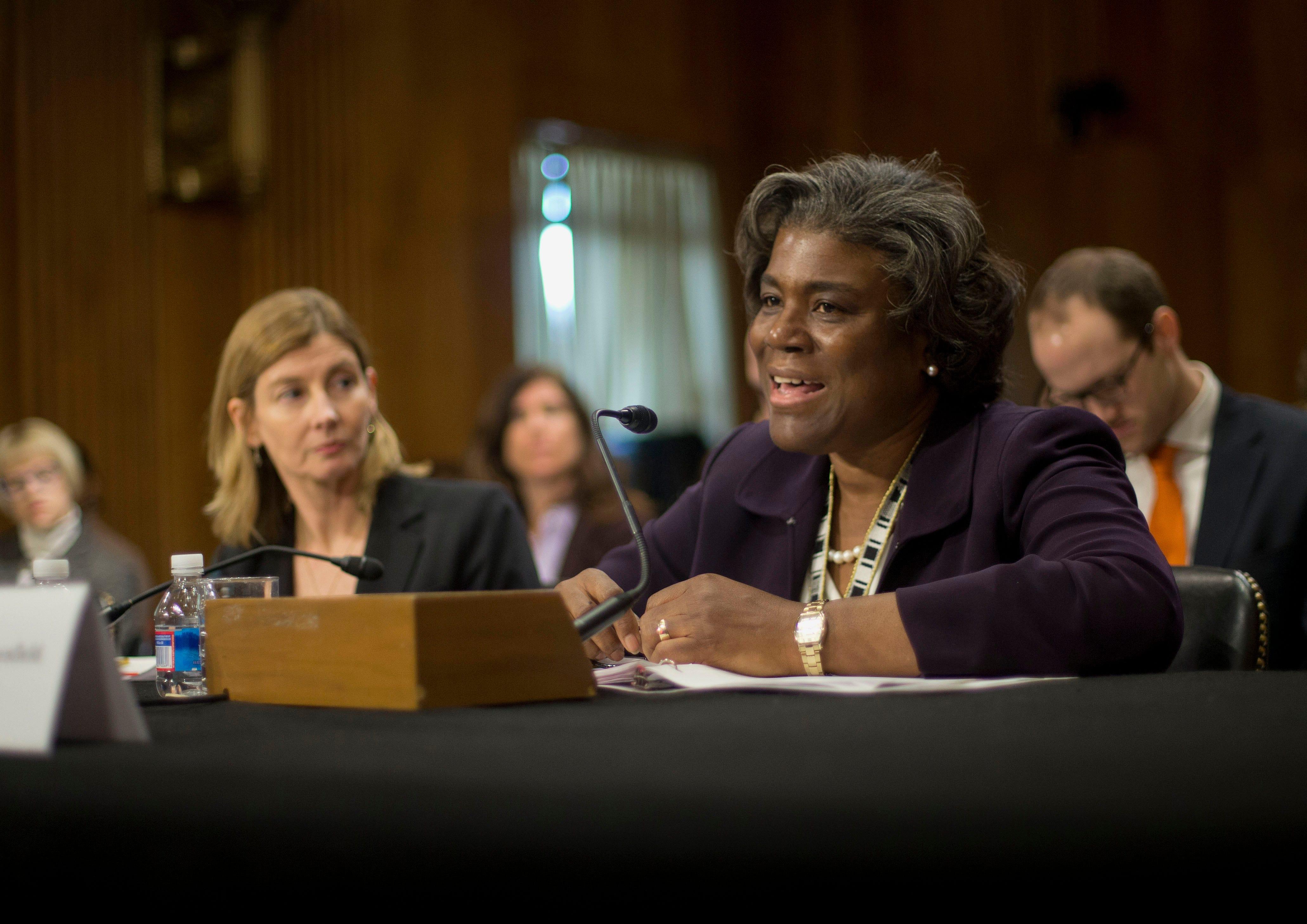 A diplomatic powerhouse : Biden will nominate Linda Thomas-Greenfield as UN ambassador