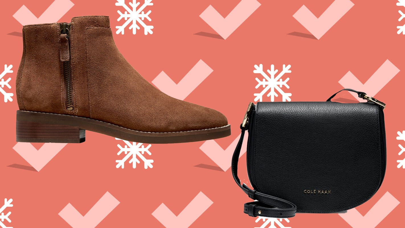 Leather boots and bags are majorly marked down for Cole Haan's Black Friday 2020 Sale
