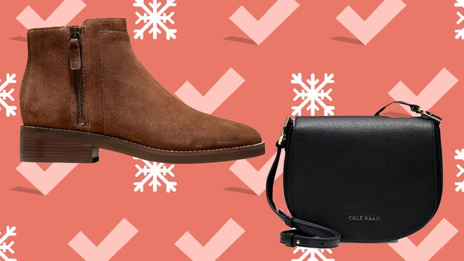 Shop leather shoes and bags at Cole Haan's Black Friday event.