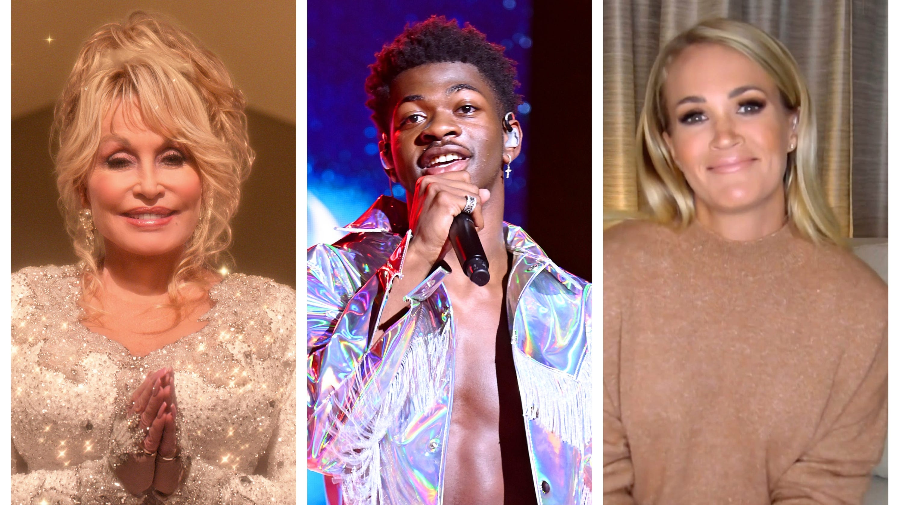 Cue the Christmas music. What's new from Dolly Parton, Jonas Brothers,... image