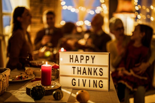 """Although Thanksgiving may be different this year, it doesn't have to be negative, reminds Abby Opal,community liaison development specialist for the Mental Health Association in Beaver County. """"Look to the positive things in your life and turn your focus on them to help you through,"""" she says."""