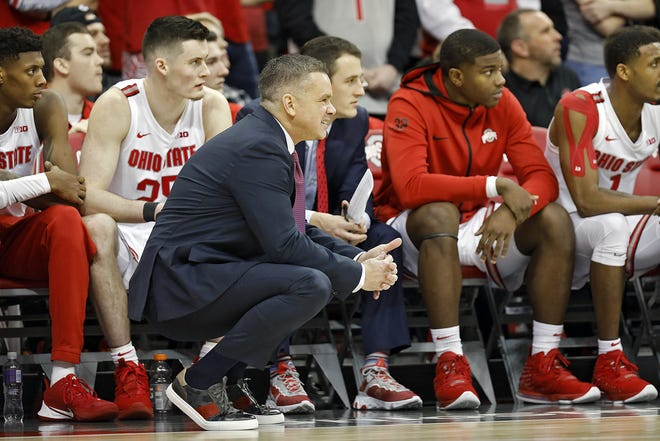 Ohio State men's basketball coach Chris Holtmann has been reminding his players that they are fortunate to have the opportunity to play this season.