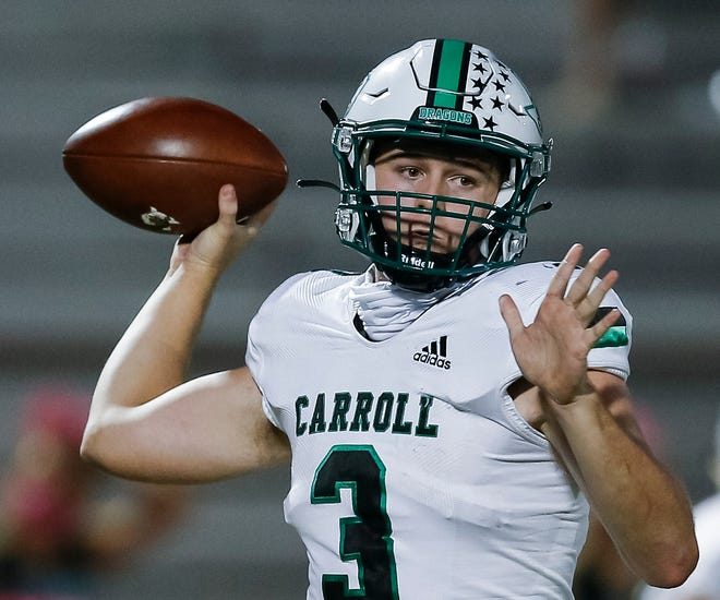 Southlake Carroll quarterback Quinn Ewers is committed to Ohio State, making him the fourth No. 1 overall prospect in Texas to commit to the Buckeyes. Ewers is the top-ranked player on the 2022 Fabulous 55.