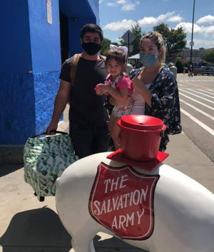 The Salvation Army of Davidson County is participating in a national Red Kettle Campaign Challenge at the Lexington Walmart on Dec. from 3 to 7 p.m.