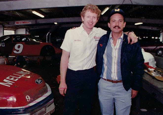 In the mid-1980s, Bill Elliott was a young hot-rodder from Georgia. Godwin Kelly was a young motorsports writer from Daytona.