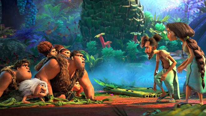 """""""The Croods: A New Age,"""" a new Dreamworks film, was scheduled to start Wednesday at Tinseltown and Friday at Movies at Meadville."""