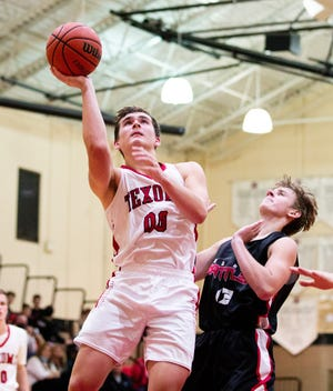 Texoma Christian's Thomas Barnett had 41 points in a season-opening victory against the Red River Rattlers at TCS.