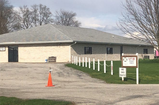 A view of the Macomb VFW on April 10, 2020.