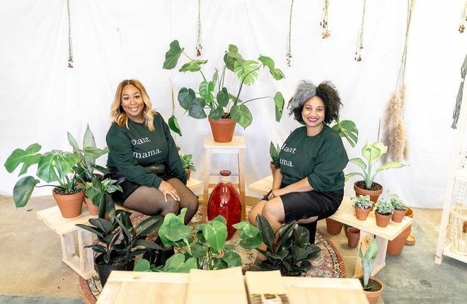 Meghan Paige, left, and Keneisha Malone opened Terra Cotta in Memphis, Tennessee.