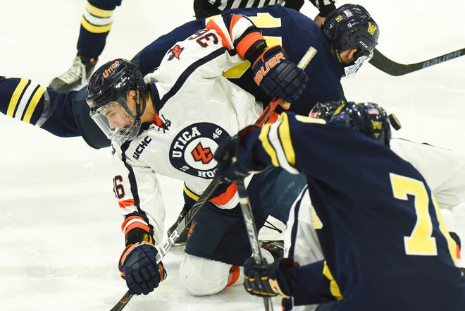 The Utica College hockey teams will have to wait to take on some competition this season.