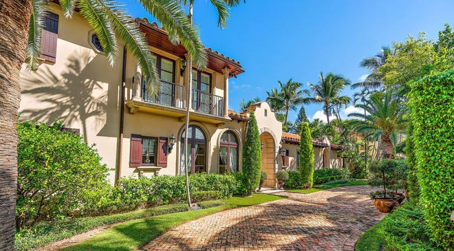 Caryn Zucker, ex-wife of CNN President Jeff Zucker, this month paid a recorded $8.4 million for this five-bedroom house completed in 2002 at 167 Seabreeze Ave. in Palm Beach.