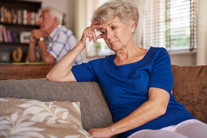 Many seniors are missing their family and loved ones during the holidays.