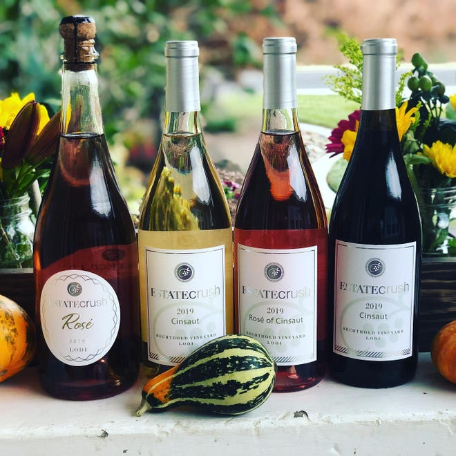 Estate Crush in Lodi makes four styles of cinsaut that would go well with Thanksgiving dinner