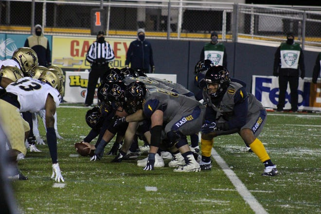 Stellar offensive line play has been a key to success for the 2020 Kent State football team, which leads the nation in scoring at 52.7 points per game.