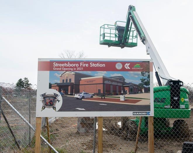 Streetsboro Fire Department construction