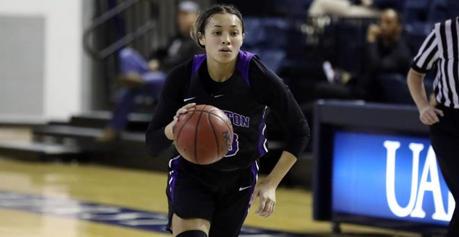 Tarleton's Alexa Hoy battled past injuries she received last season to lead TSU into its inaugural Division I season this week.