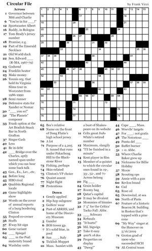 Woo crossword Nov. 29