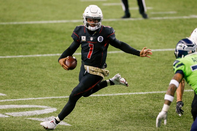 As he showed against the Seahawks last Thursday night, Cardinals quarterback Kyler Murray always poses a threat to run for chunks of yardage,