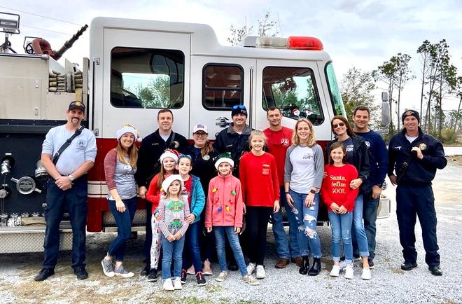 Viviana Besteiro, a firefighter for the Panama City Beach Fire Rescue, created the Fire Sleigh Toy Drive last year while working for the Panama City Fire Department.