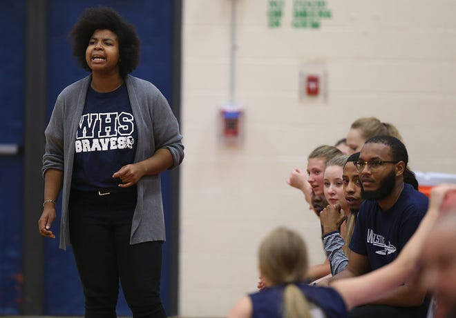 """Fourth-year coach Torrie Ruffin has a Whetstone girls basketball team that features no seniors. This season will focus on """"understanding how (the game is) played (and)how to make the right decisions,"""" she said."""