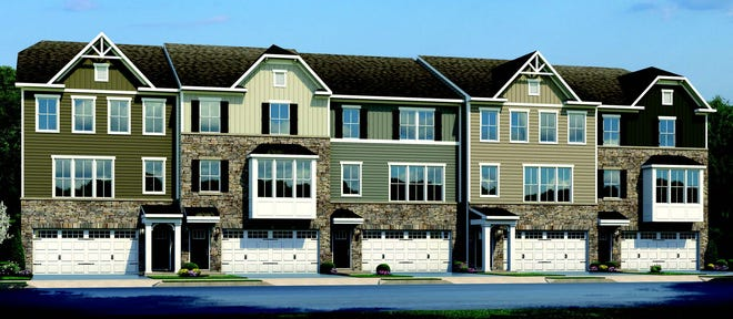 Rose Hill Townhomes, at 750 Rosehill Road will have 76 three-bedroom, 2-story townhomes range from 1,650-square-feet to 2,200-square-feet and include attached, two-car garages.