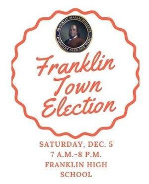 Franklin's special town election will fill a seat on the Town Council.