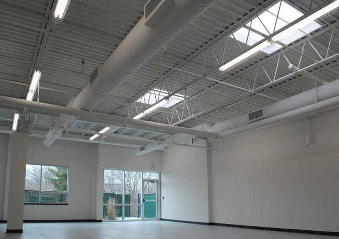 The manufacturing space at 260 Fordham.