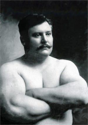 Cincinnati Strong Man Henry Holtgrewe.
