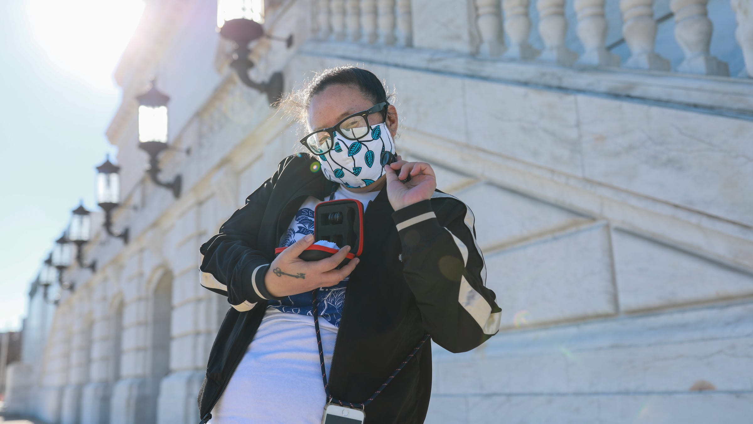 www.freep.com: Detroit rocker's photos of people wearing masks tell COVID-19 story of love and endurance
