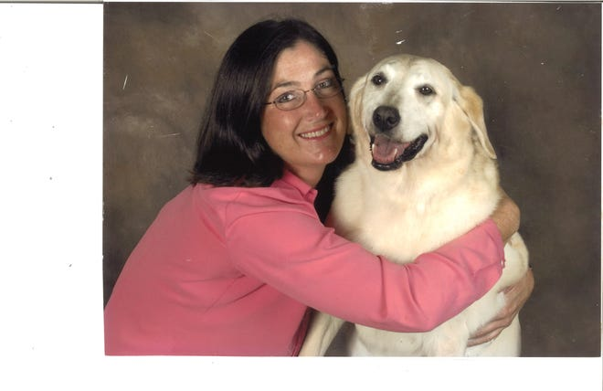 Shari Deeken and her dog, Annie, in 2010. Deeken described Annie as the love of her life and sought out Beyond the Paw Print Pet Loss Support Group in 2012, a year before Annie died, to address her anticipatory grief over losing Annie.