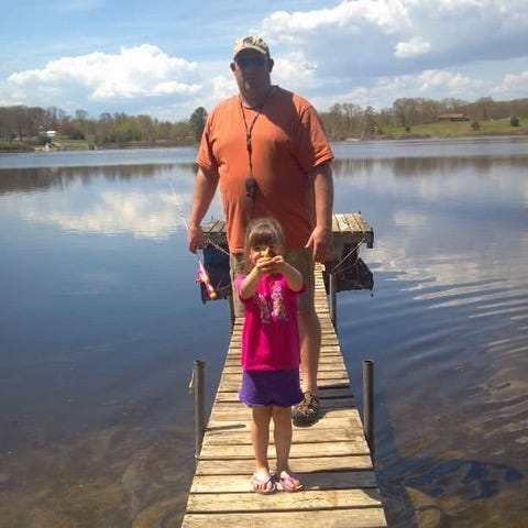 Camilla Colbry learned her love of fishing and hunting from her father, Casey Colbry.