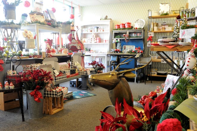 'Tis the season. Thyme in the Kitchen on Franklin Street is bedecked with all your Holiday tabletop items, gifts, and seasonings.