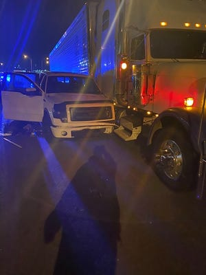 Two people were killed and two others injured after a shooting occurred inside a pickup on I-24 near downtown Nashville early Tuesday morning Nov. 24, 2020, according to Metro Nashville police.