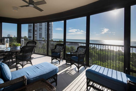 Theory Design's Vice President of Design Ruta Menaghlazi and interior designer Cynde Thompson have completed a new interior design for a remodeled condominium in the Remington high-rise within Bay Colony at Pelican Bay.